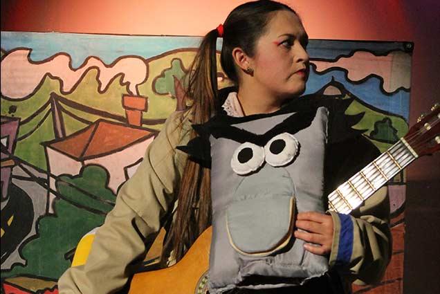 Obra de teatro palabras encartadas - teatros en Boyaca - teatro teb - teatros en tunja